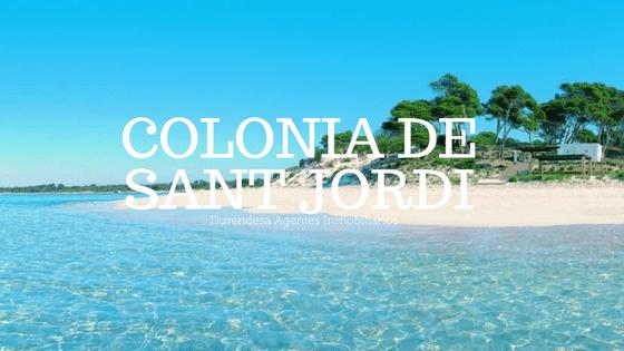 Vivir en colonia sant jordi Mallorca