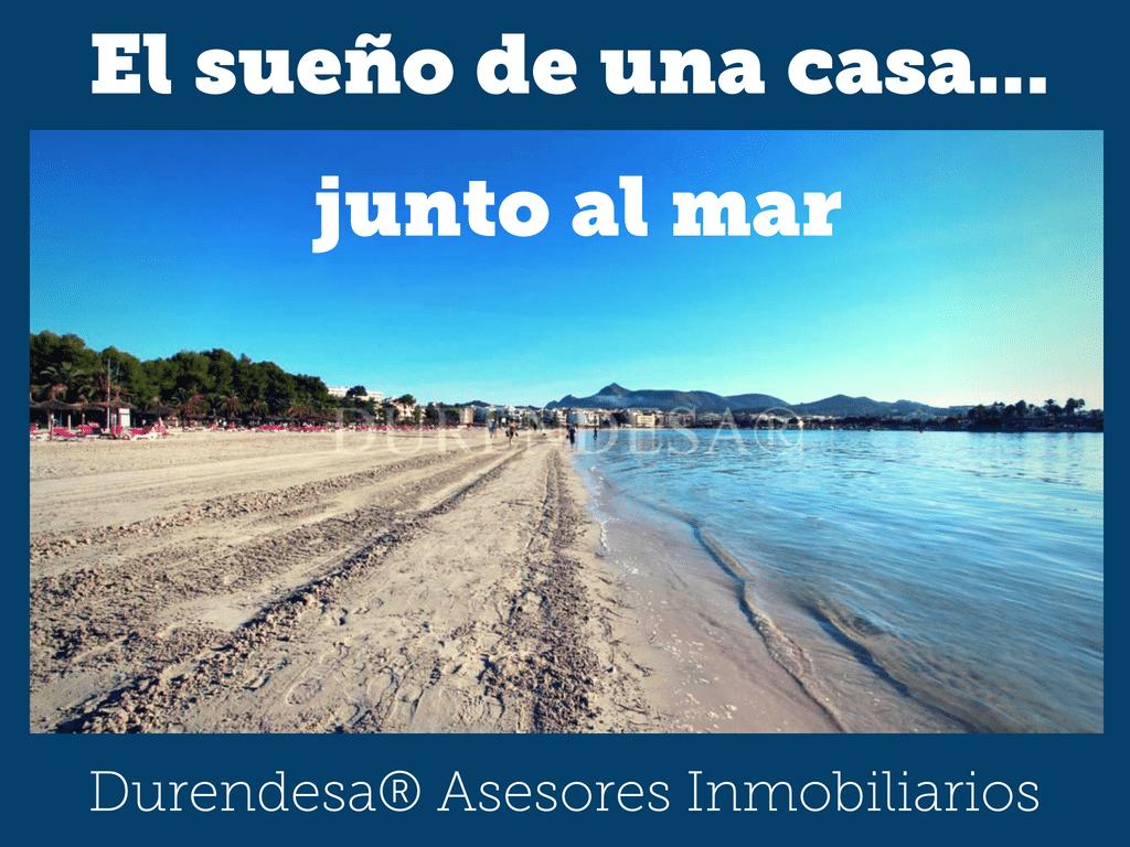 Casa junto al mar Alcudia