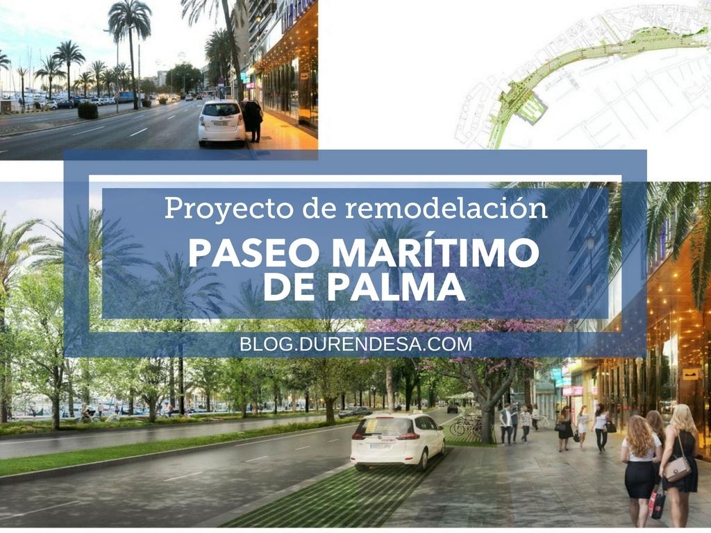 Proyecto paseo maritimo Palma