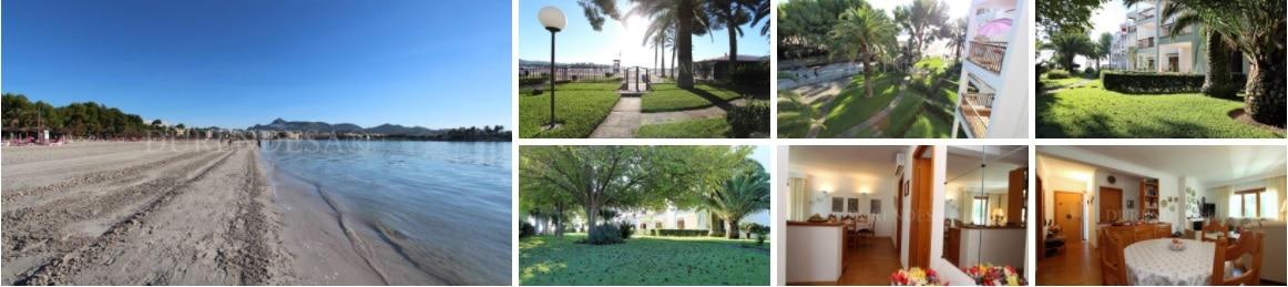 vivienda en venta junto a la playa- primera línea- Alcudia (Mallorca)