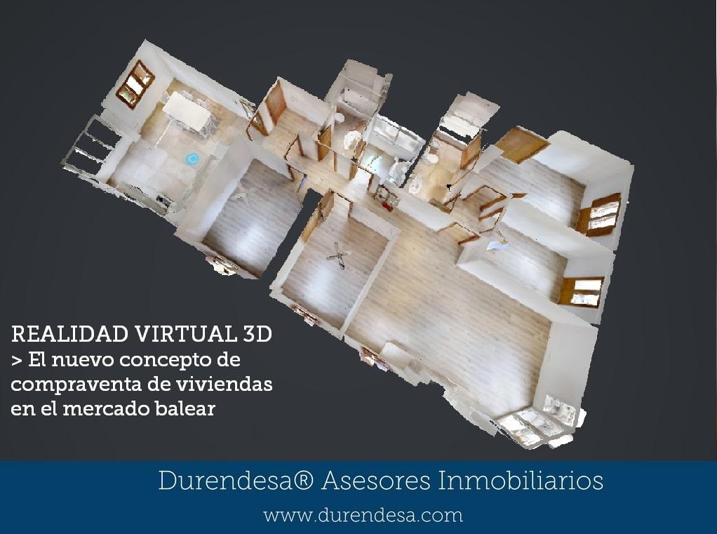 Recorrido virtual- viviendas Mallorca Ibiza- inmobiliaria Baleares