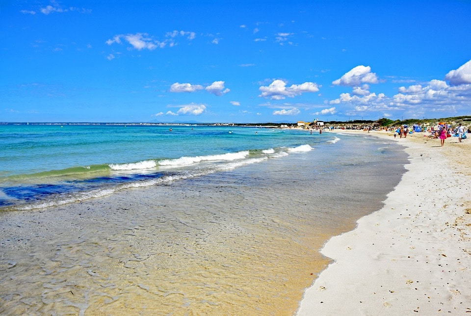 Playas de Mallorca Es Trenc