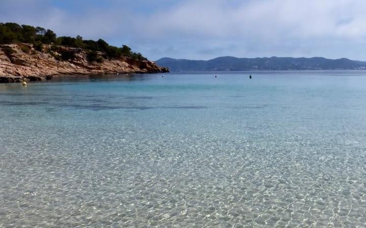 Mejores playas de Ibiza- Bassa