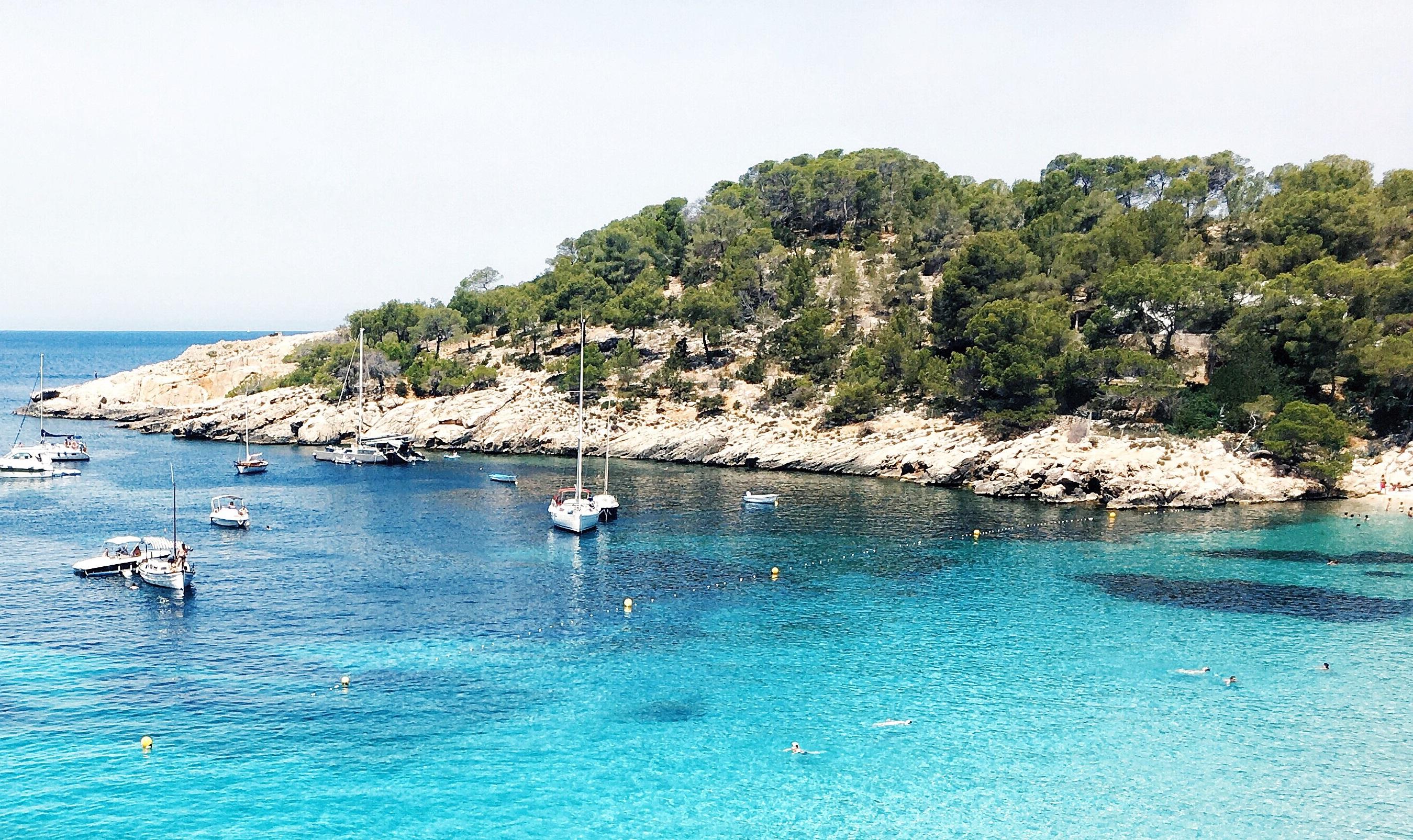 Las mejores playas de Ibiza- Saladeta