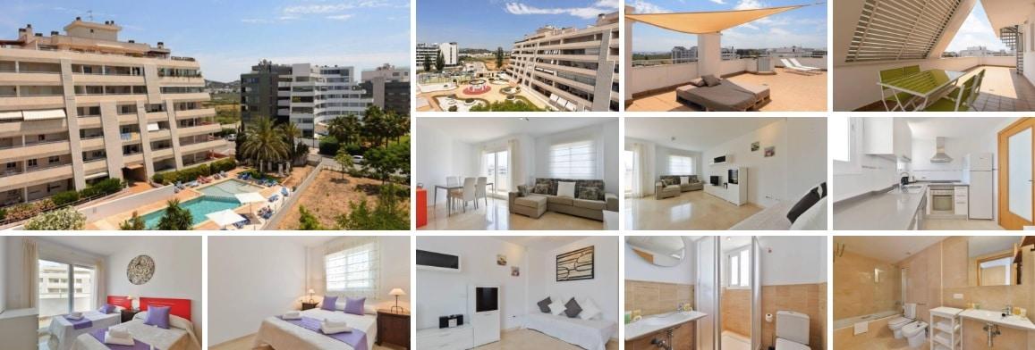 vivienda con zonas comunes- Inmobiliaria Ibiza