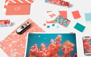 tendencias decorativas 2019- living coral