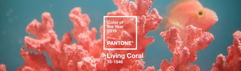 Living coral- tendencias deco 2019- viviendas Mallorca