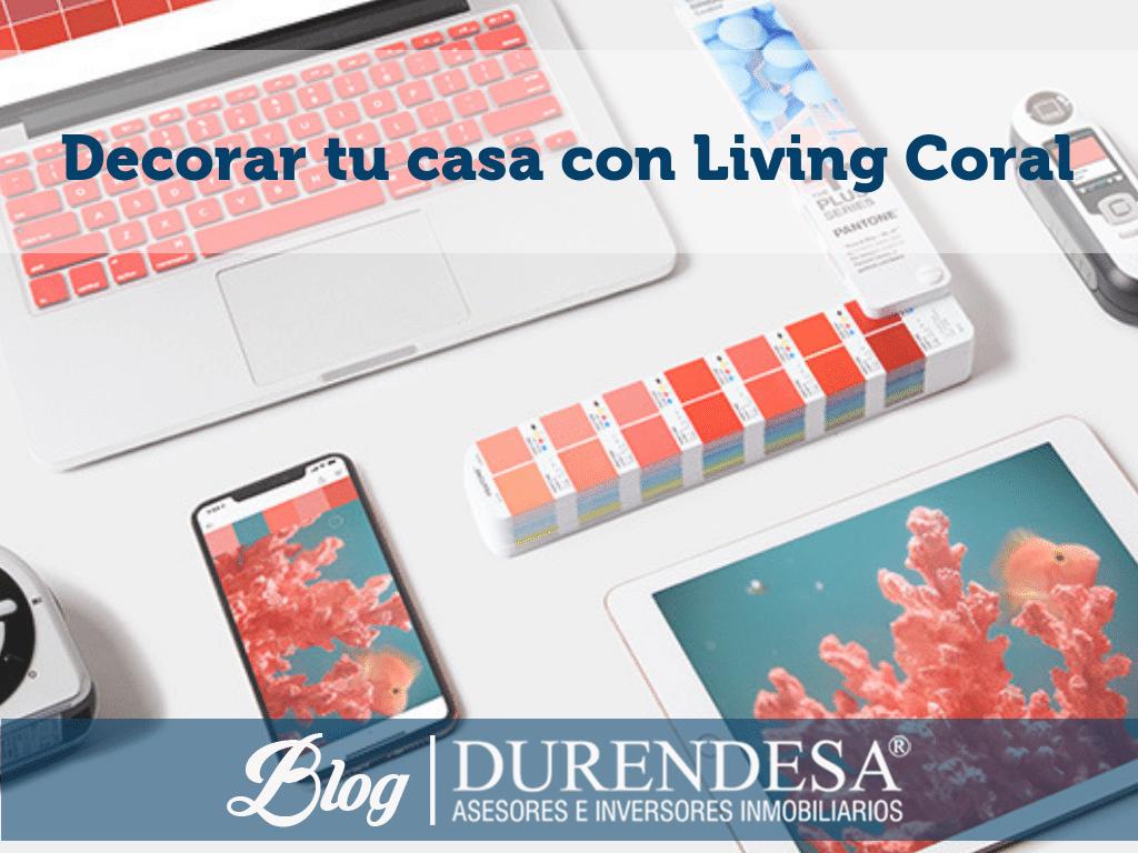 deco hogar 2019- Living Coral