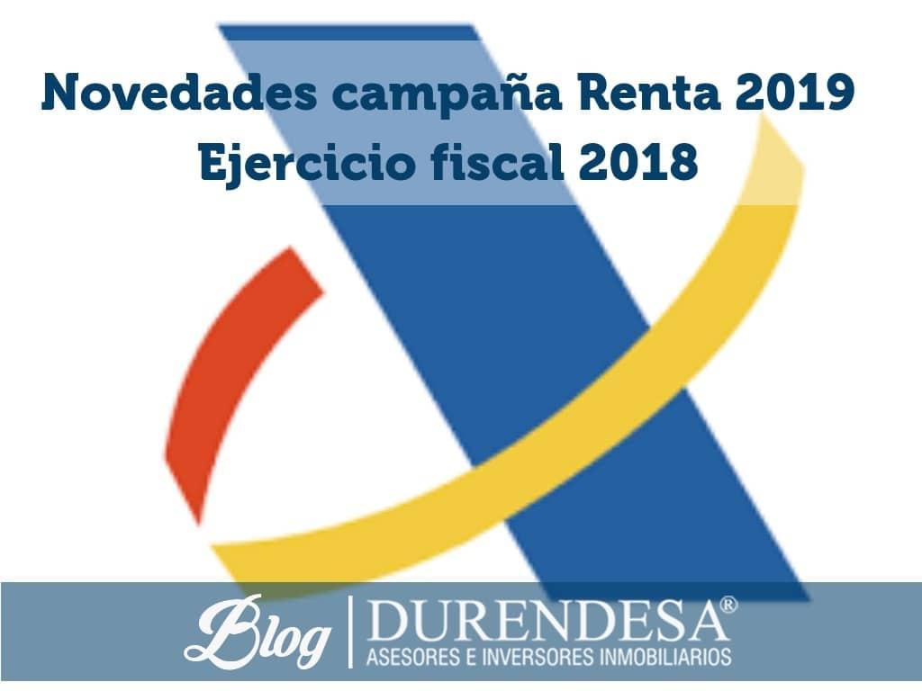 renta 2019- novedades declaracion de la renta 2018