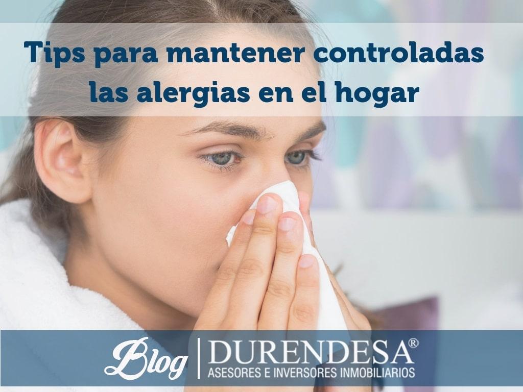alérgicos- evitar alergias en casa- viviendas Mallorca