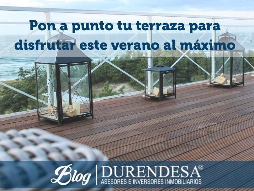 deco terraza- viviendas Mallorca
