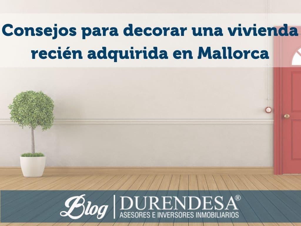 nueva vivienda en Mallorca- inmobiliaria Durendesa
