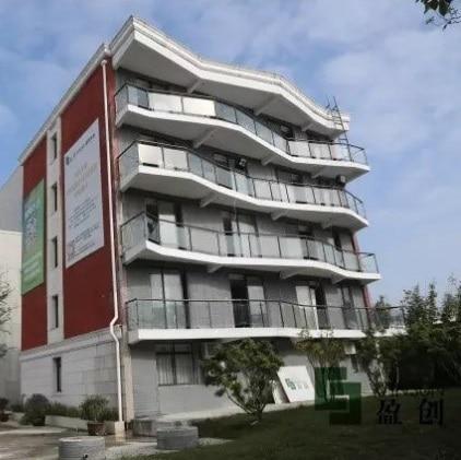 casas fabricadas en 3D- China