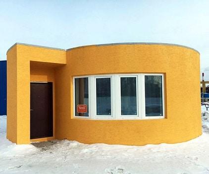 casas fabricadas en 3D- Moscú