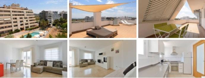 comprar o alquilar un ático- compraventa de viviendas Ibiza