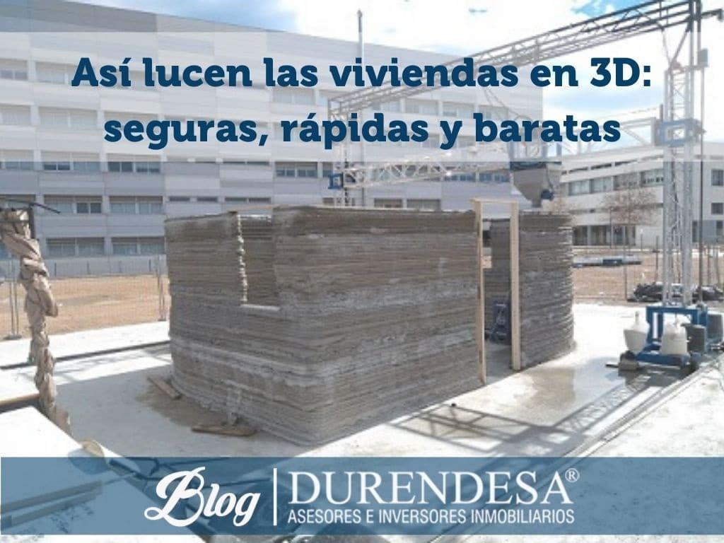 viviendas decoradas en 3D- Durendesa