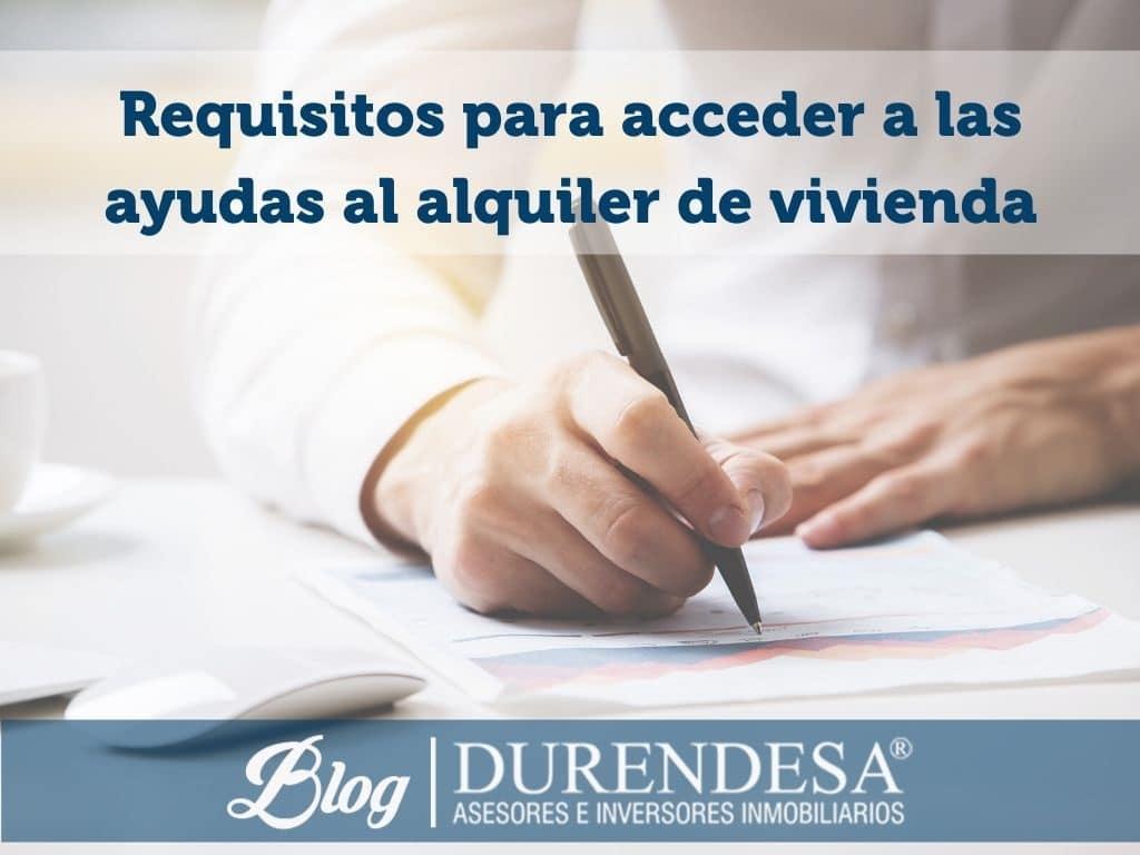 solicitar ayudas para el pago del alquiler- Baleares
